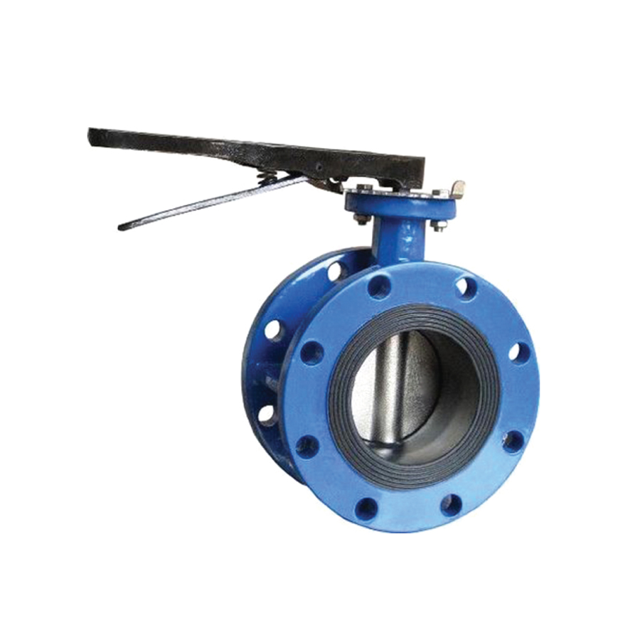 Tbl 62128te Concentric Flanged Type Butterfly Valve